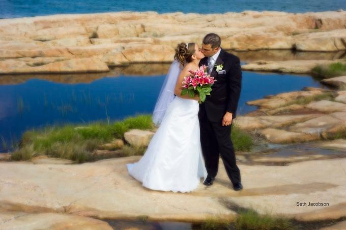 Wedding, Narragansett Fuzzy Background, Seth Jacobson