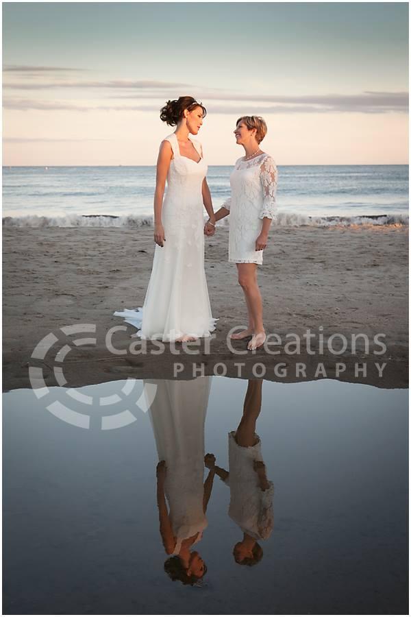 wedding, Leigh Ann and Susan