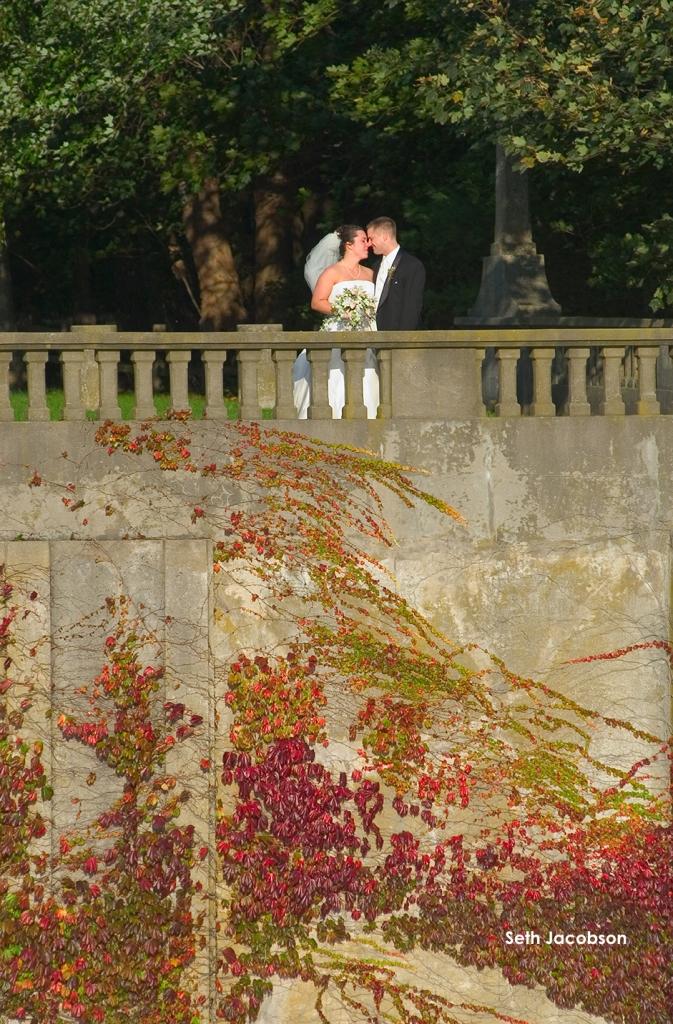 Wedding Narragansett Bridge, Seth Jacobson